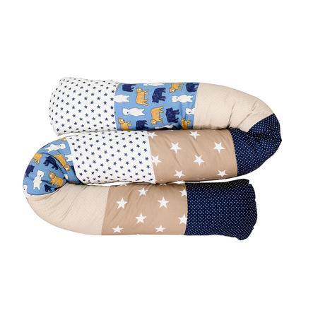 Ullenboom Dětská postel Medvídek hadí medvěd 200 cm