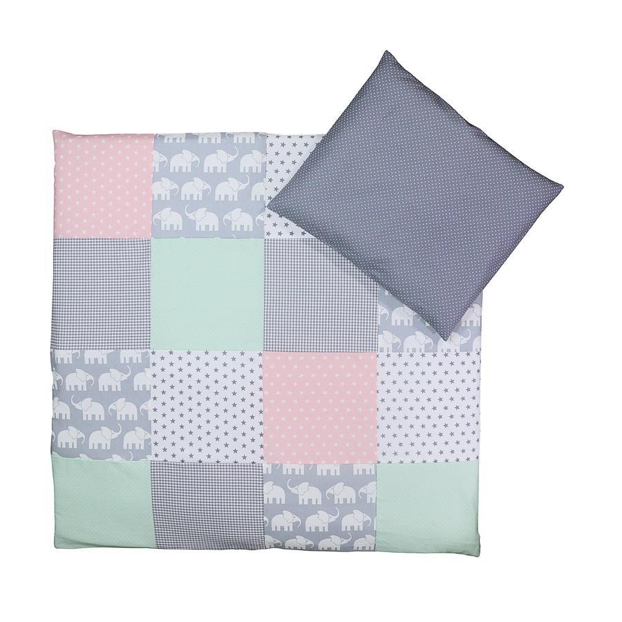 Gepunktet Grau Wickeln 80x80 cm Weich Baby Kleinkinder Decke 100/% Baumwolle