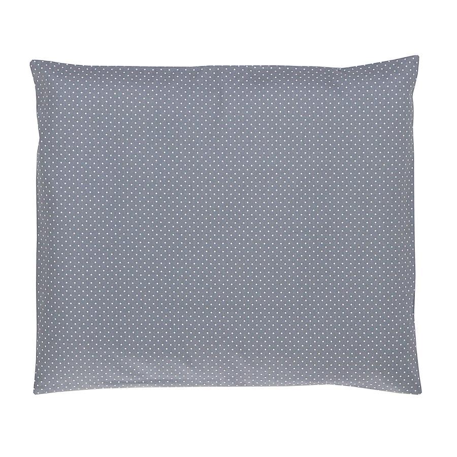 Ullenboom Baby-Kopfkissenbezug Grau 35 x 40 cm