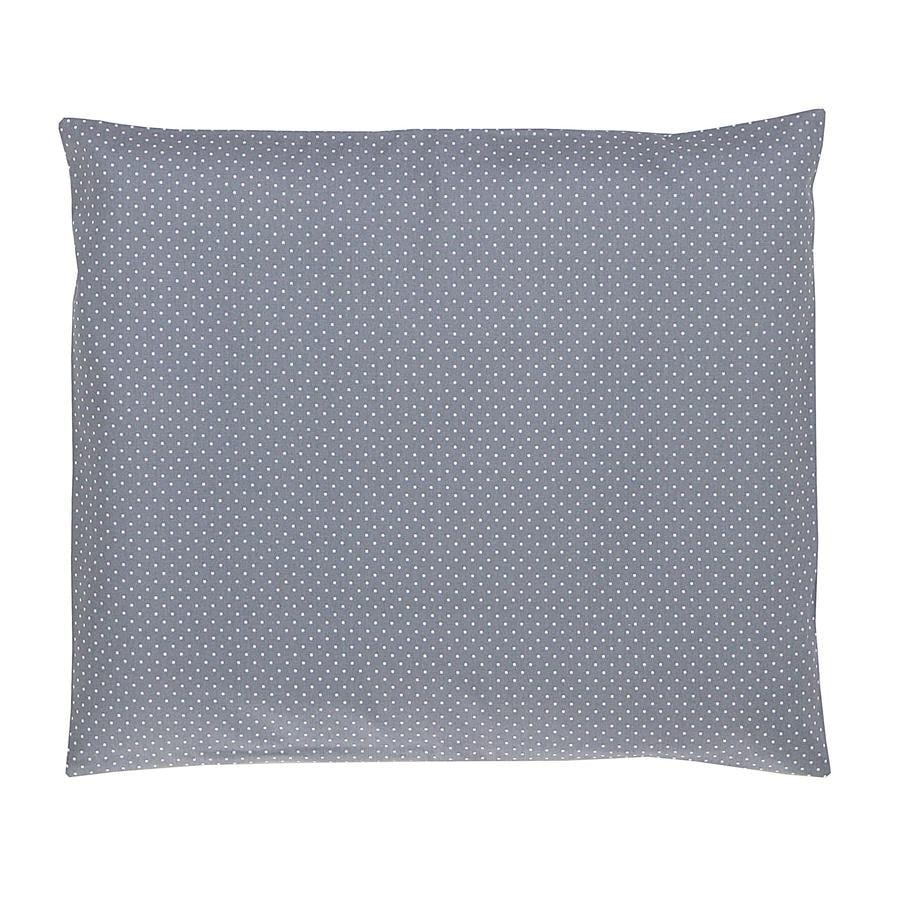 Ullenboom Funda de almohada para bebé gris 35 x 40 cm
