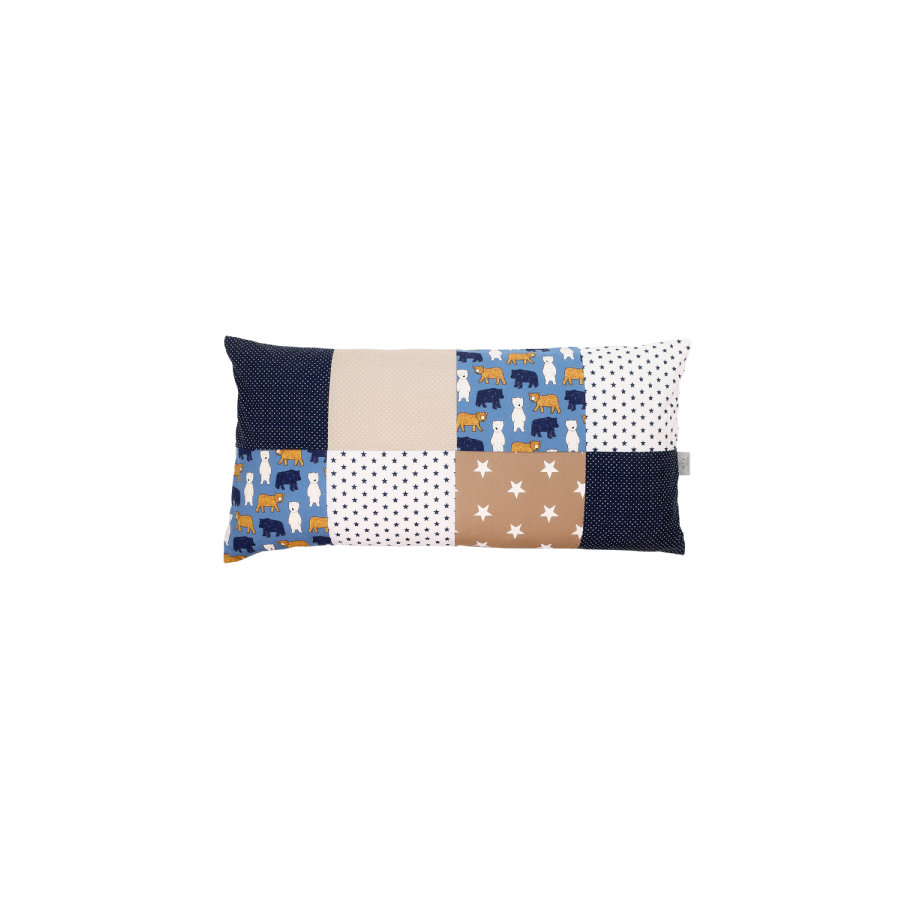 Ullenboom Patch osłona poduszki roboczej 40 x 80 cm niedźwiedź piaskowy