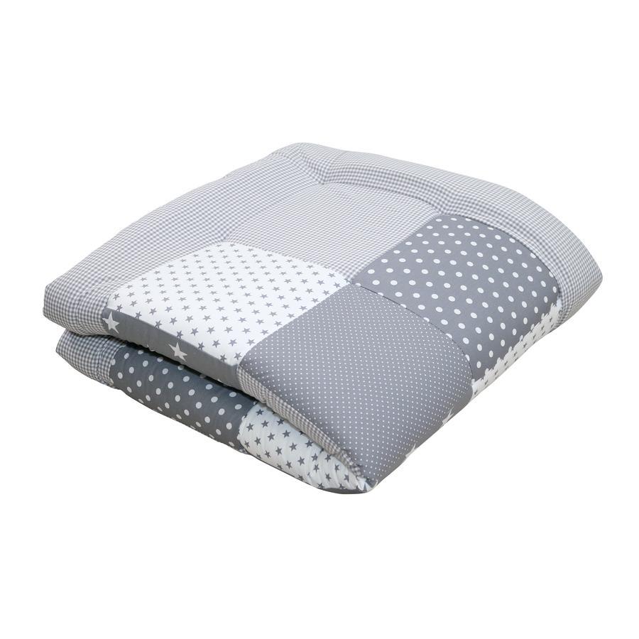 Ullenboom deka a vložka do ohrádky 100 x 100 cm šedé hvězdičky