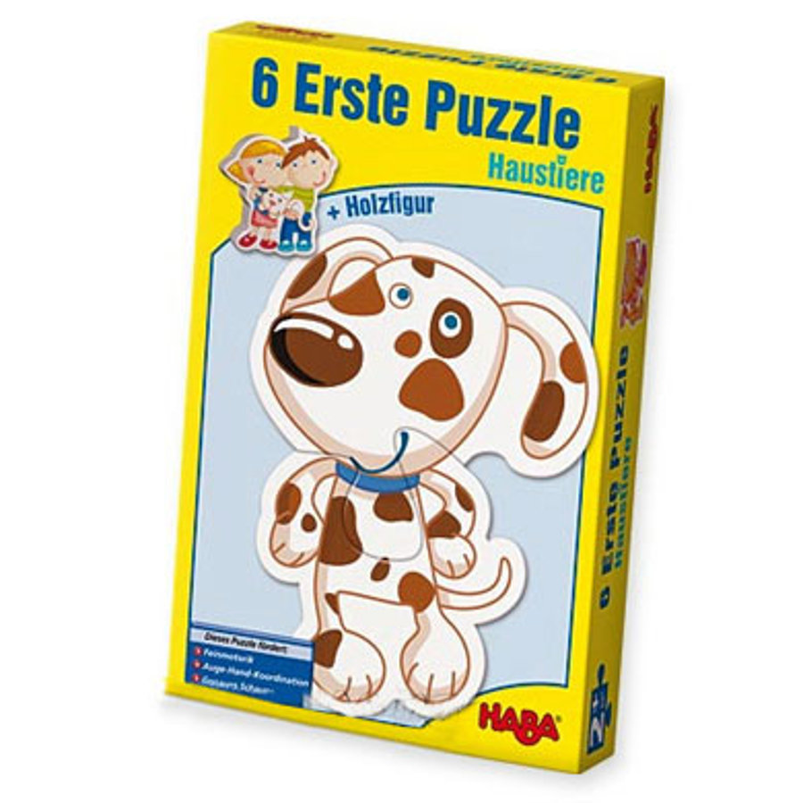 HABA 6 premiers puzzles - Les animaux domestiques