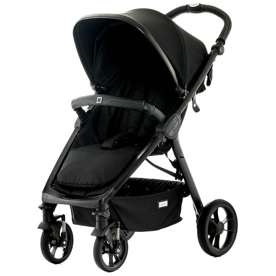 MOON Passeggino JET - R black/fishbone