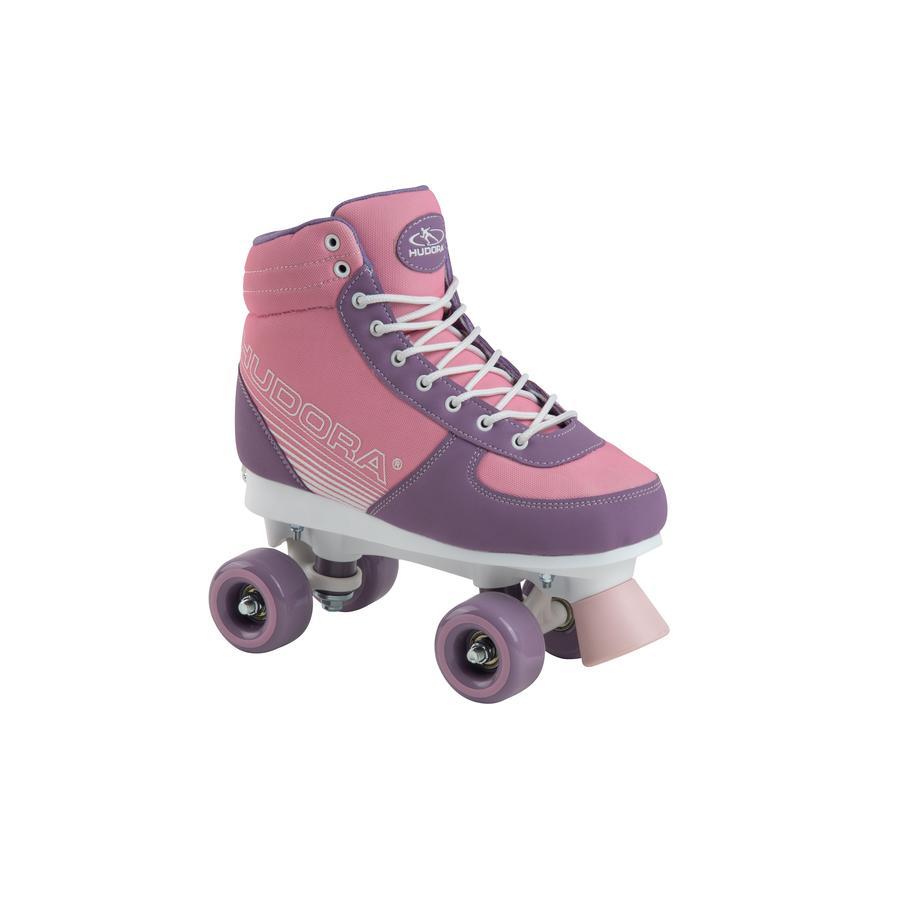 HUDORA Roller Skates Advanced, růžová červenání, velikost 35-38