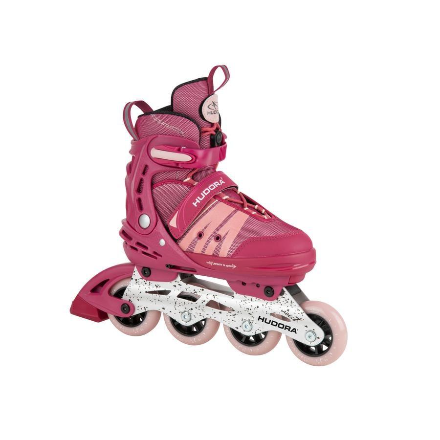 HUDORA® Rollers enfant Inline Skates Comfort strong berry T. 29-34
