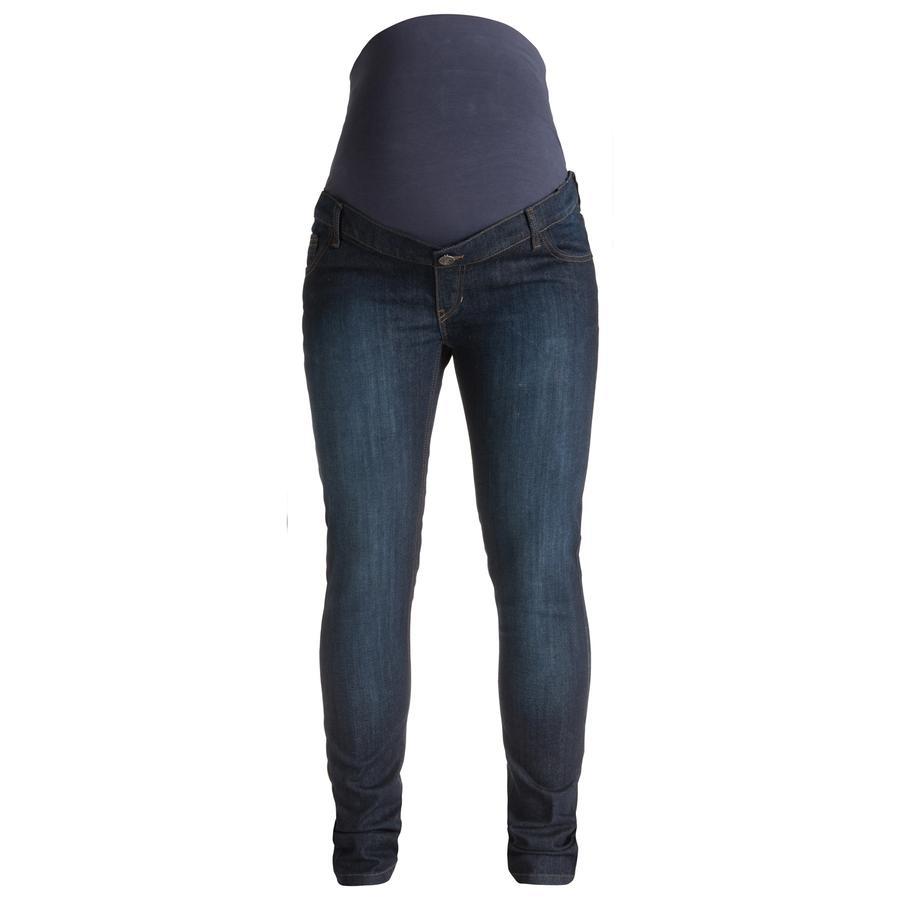 ESPRIT Spodnie Jeans dla kobiet w ciąży darkwash