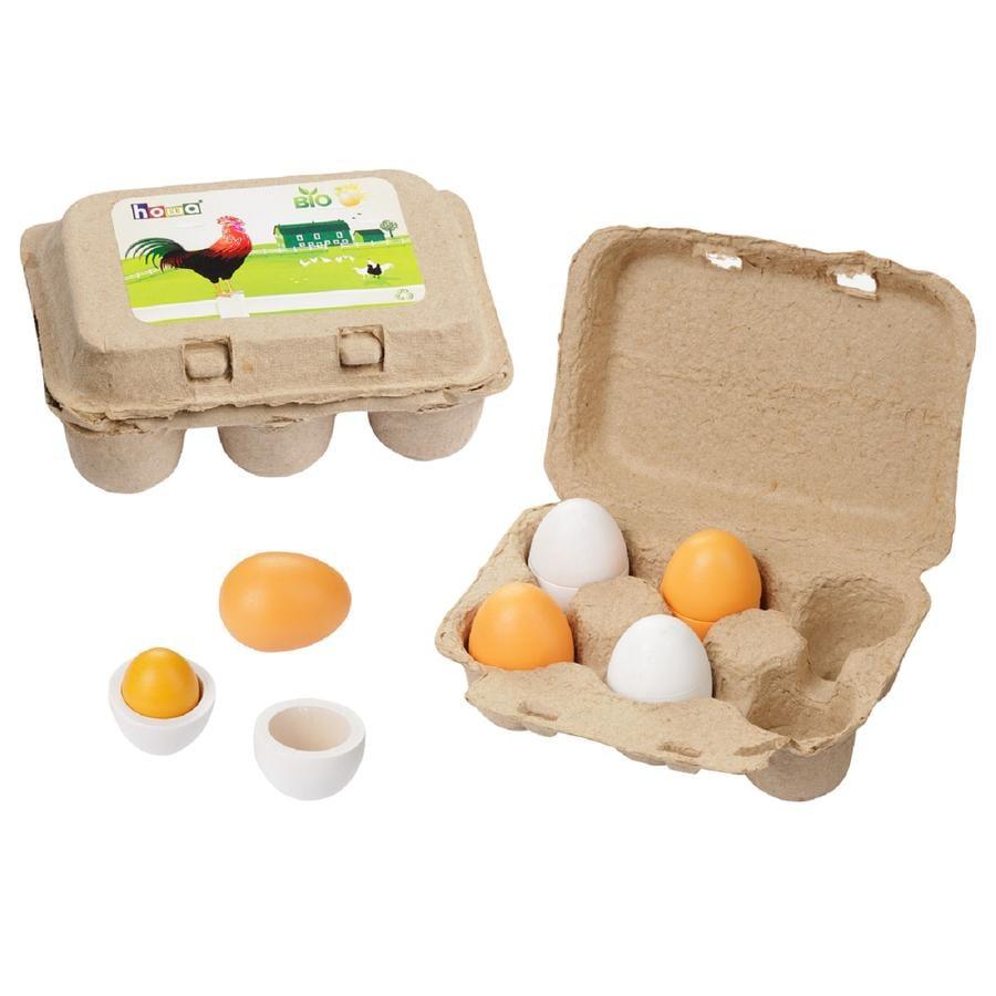 howa® Set di uova in legno