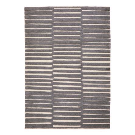 LIVONE  Alfombra para niños y juegos Lana virgen Happy Rugs Foto gris plata/naturaleza, 160 x 230 cm