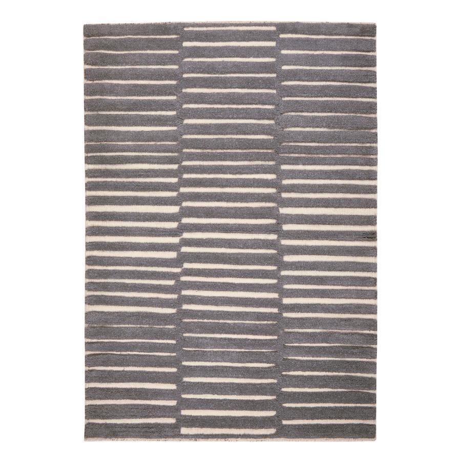 LIVONE Barnmatta Happy Rugs Star silvergrå/mint, 160 x 230 cm