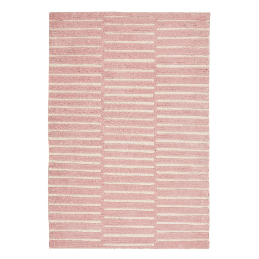 LIVONE Barnmatta Happy Rugs Photo rosa/natur, 160 x 230 cm