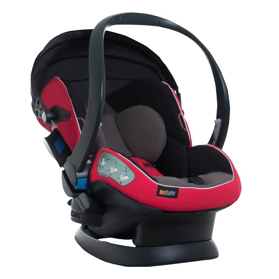 BeSafe Siège auto cosi iZi Sleep X3 groupe 0+ Fresh Red/Grey
