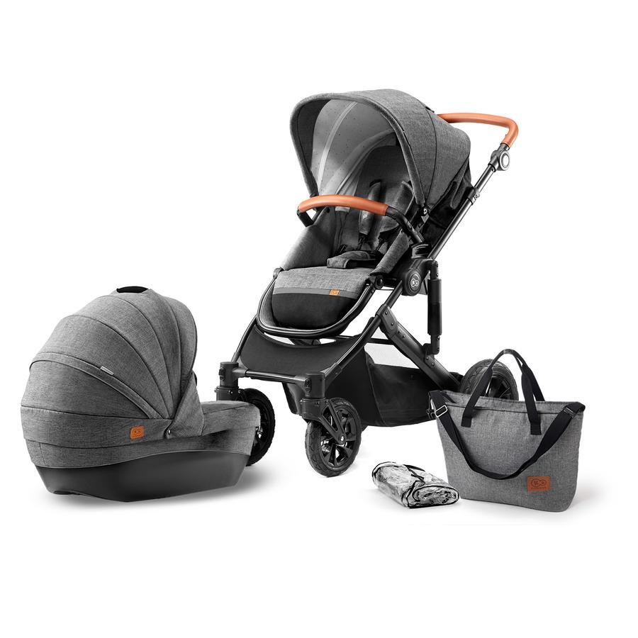 Kinderkraft Barnvagn Prime 2 in 1 grå
