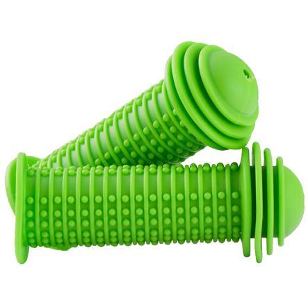 PROMETHEUS BICYCLES ® barnesykkelhåndtak, grønn med sikkerhetsend