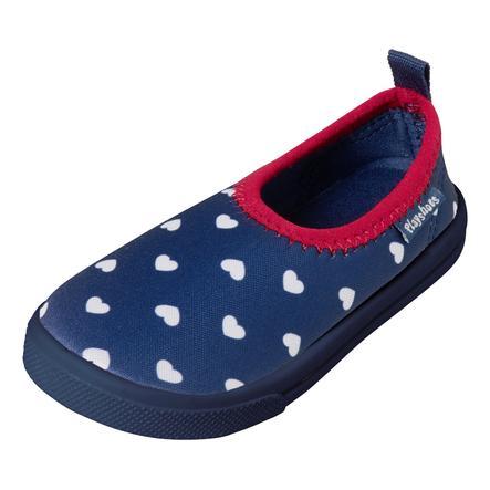 Playshoes Aqua-Slipper Herzchen