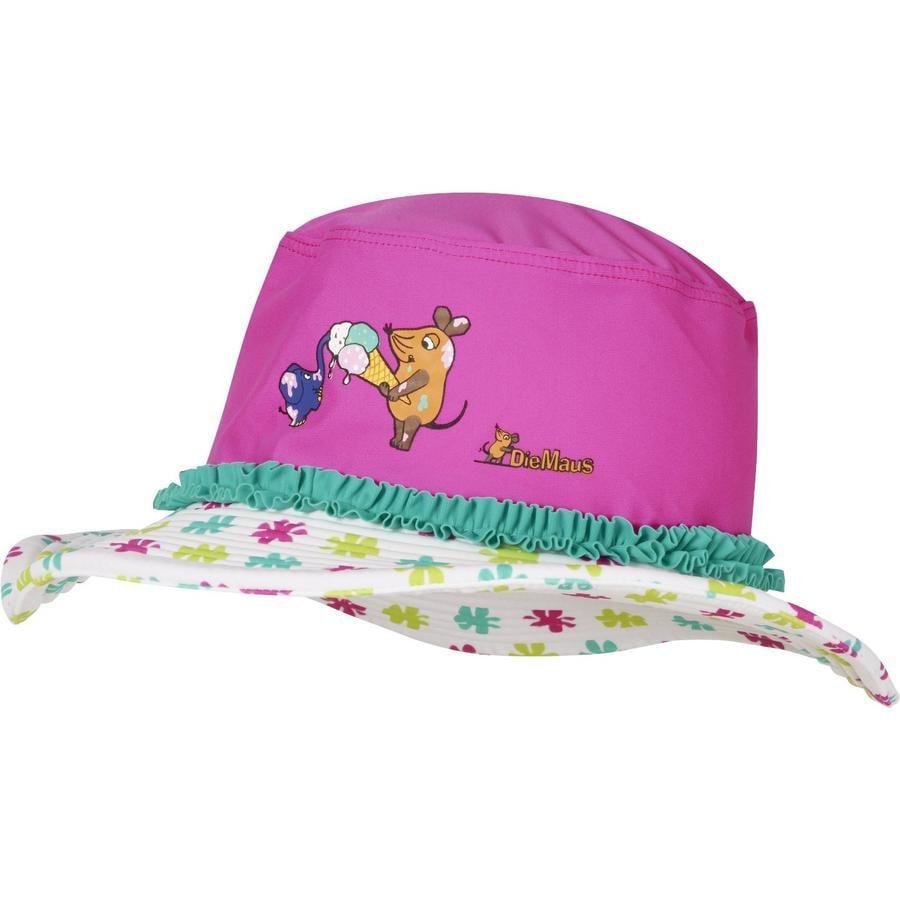 Playshoes Chapeau de protection contre les rayons UV La fleur de la souris