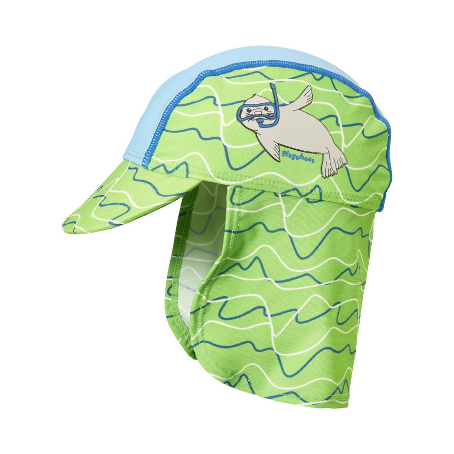 Playshoes UV-Schutz Mütze Robbe