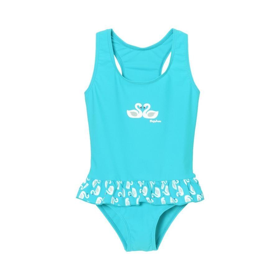 Playshoes Strój kąpielowy chroniący przed promieniowaniem UV łabędzie turkusowe