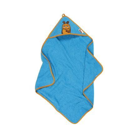 Playshoes Terry Towel Hood The Mouse aqua blue