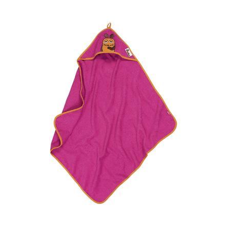 Playshoes Terry Håndklædehætte The Mouse pink