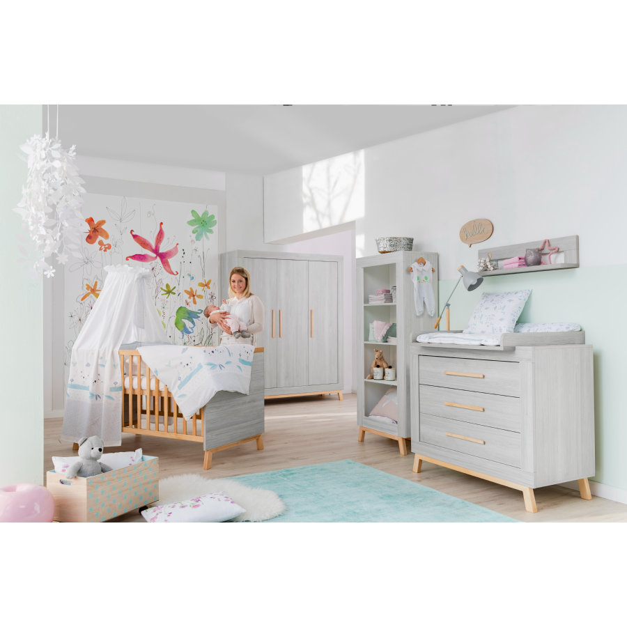 Schardt Kinderzimmer Set 3-türig Miami Grey