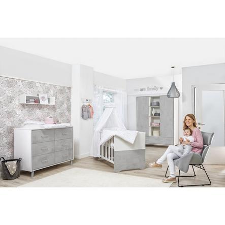 Schardt dětský pokoj Coco Grey dvoudveřový