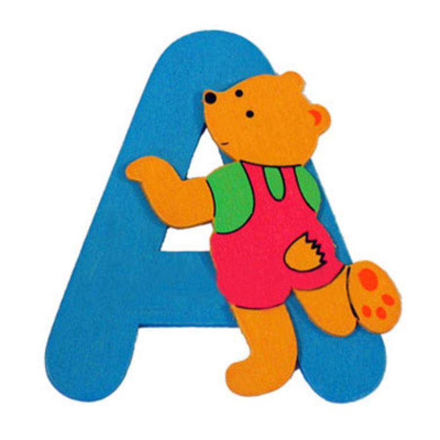 """BIECO Medvědí písmenko """"A"""""""