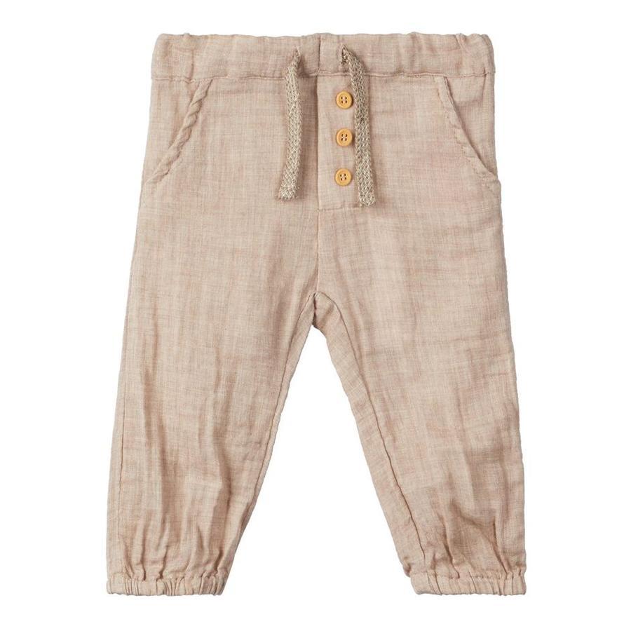 name it Boys Atmósfera de pantalones con cordón de ajuste
