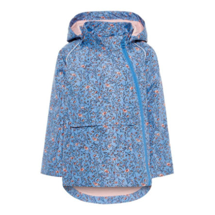 name it Girl s Veste Micco bonnet bleu Micco