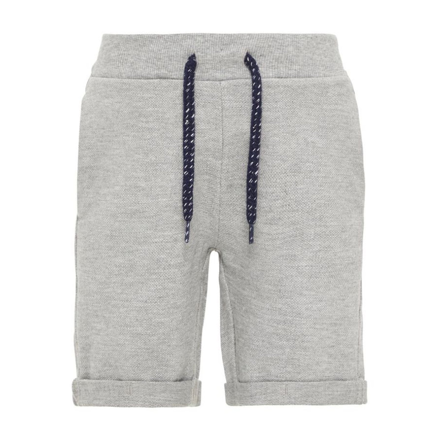 name it Boys NMMVASSE Sweatshorts grey melange