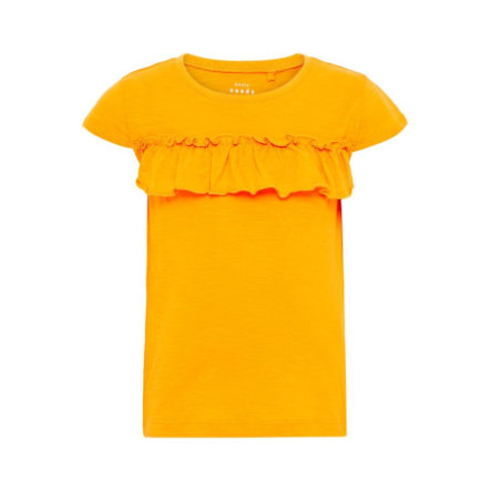 name it Girl s Jaune de cadmium T-Shirt Vigitte