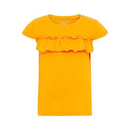 name it Girls T-Shirt Vigitte cadmium yellow