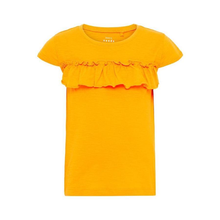 name it Girl s T-Shirt Vigitte amarillo cadmio