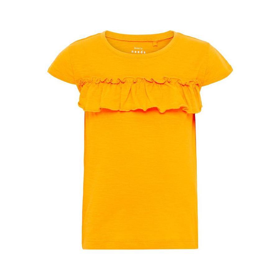 name it girls t-skjorte Vigitte cadmium gul