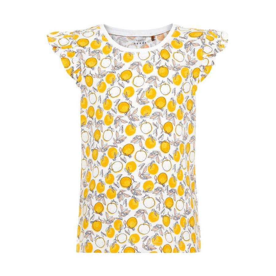 name it Girl s T-Shirt Vigitte blanc vif