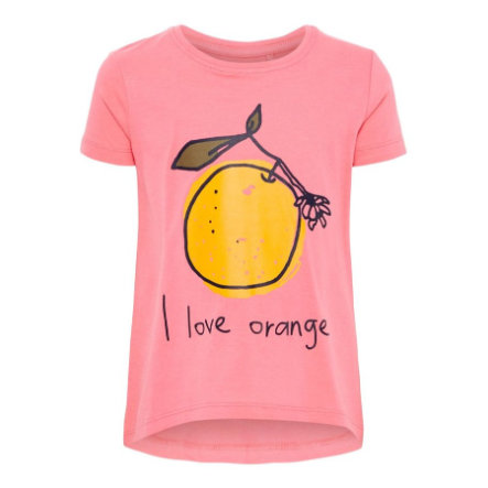 name it Girls T-Shirt Violet camellia Rose