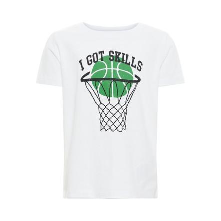 name it Boys T-Shirt Vagno Helder Wit
