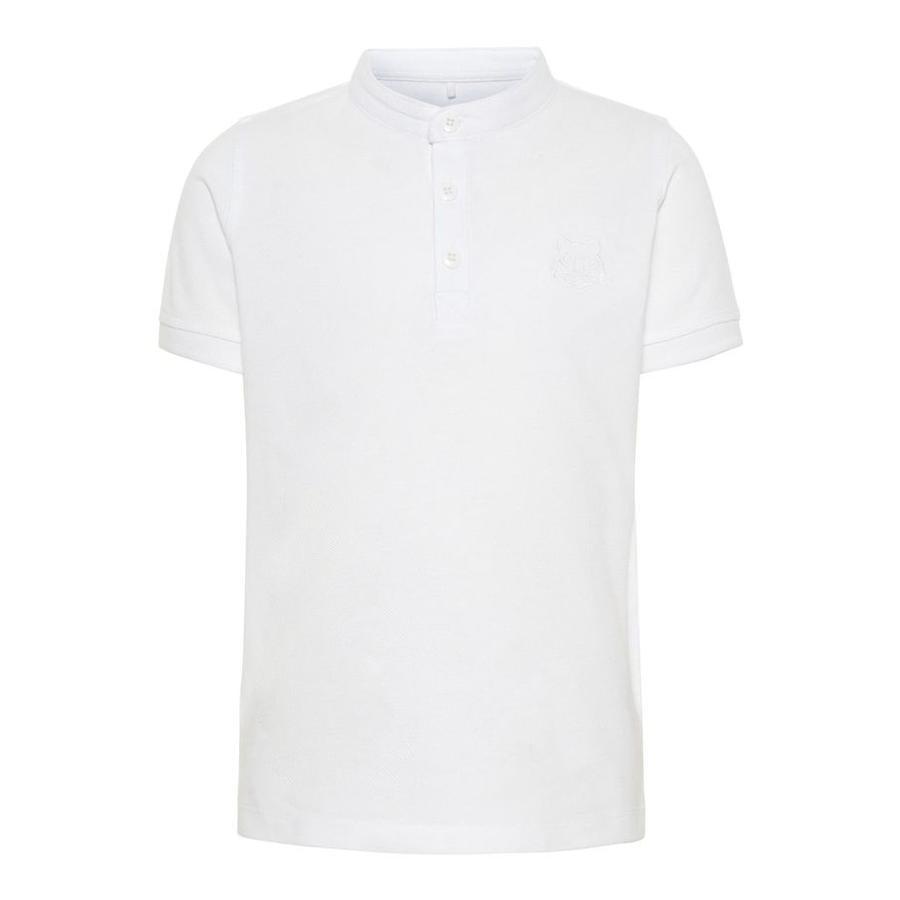 name it Boys Poloshirt Vallo Bright White