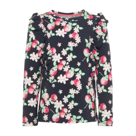 name it Girls Langermet skjorte Dedida Dark Sapphire