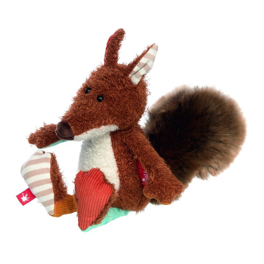 sigikid® Kuscheltier Mini Eichhörnchen - Patchwork Sweety