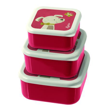 sigikid® Snackboxen 3er Set Hund