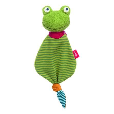 sigikid® Mini-Schnuffeltuch Flecken Frog