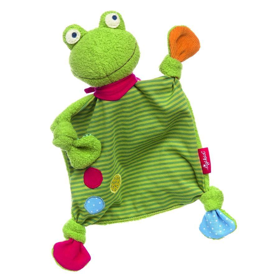 sigikid® Schnuffeltuch Flecken Frog