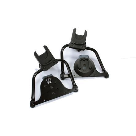 Bumbleride Adapterset Single Twin zwart