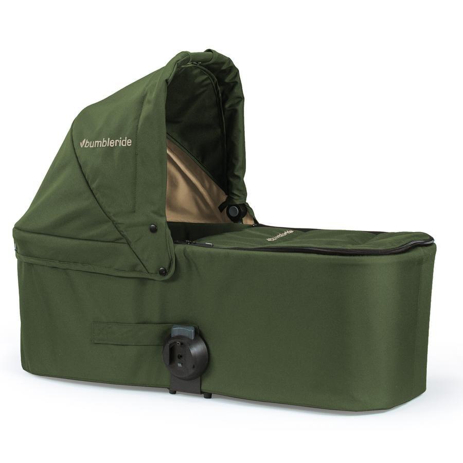 Bumbleride Kinderwagenaufsatz Carrycot Indie Twin Camp Green - grün