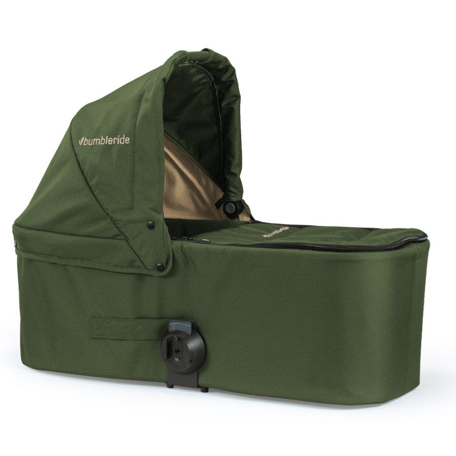 Bumbleride Reiswieg Carrycot Indie Twin Camp Green