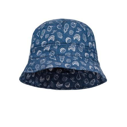 maximo Girl cappello Frutta denim-blu