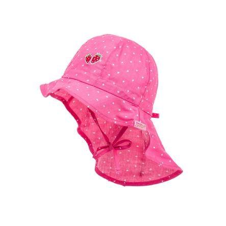 maximo Girls Cappello alla pescatora rosa/bianco