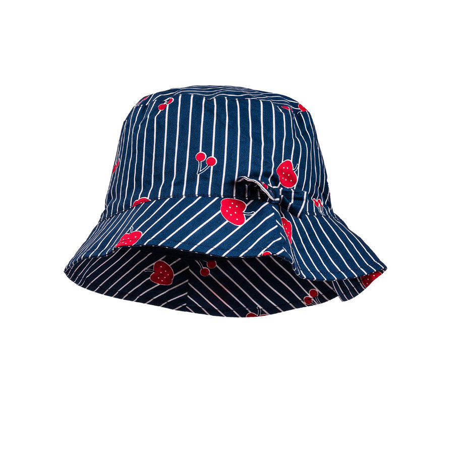 maximo Girl s Sombrero Striped Fruits rojo marino
