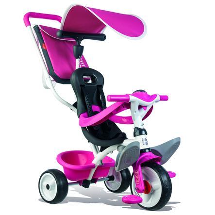 Smoby Triciclo Baby Balade rosa